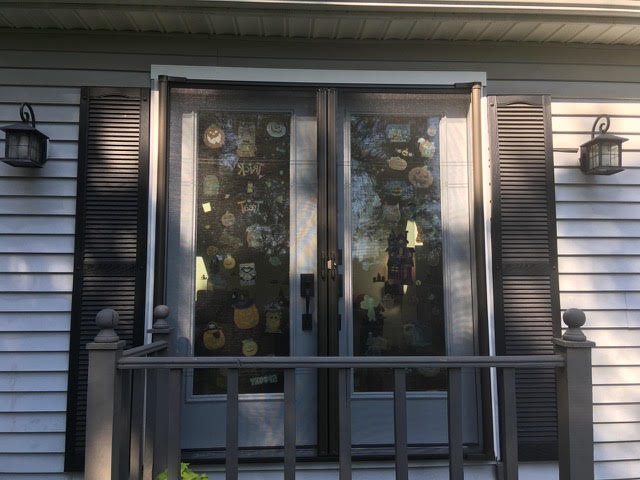 French Doors with Screen Doors